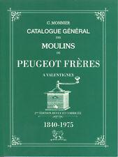 CATALOGUE DES MOULINS A CAFE PEUGEOT FRERES VALENTIGNEY