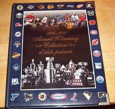 Kraft Hockey Albums complete with cards 1994-95