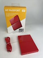 1TB WD My Passport RED MAC Portable (USB 3.0)External Hard Drive HDD
