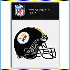 """Pittsburgh Steelers Helmet NFL Die Cut Vinyl Sticker Car Bumper Window 3.2""""x4"""""""