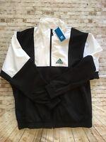 Adidas Equipment Windbreaker Jacket ADIDAS EQT  Black/White Sz. XLarge