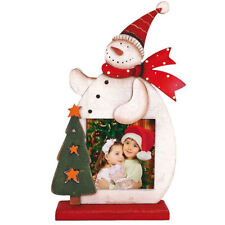 Wooden Christmas Square Photo & Picture Frames