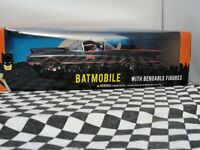 BATMOBILE WITH BENDABLE FIGURES  DC 3930 1:24 SCALE NEW OLD STOCK BOXED