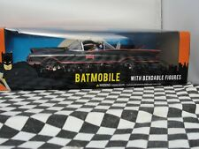"Batmobile 1 24 Scale Classic TV Series With 3"" Bendabe Batman & Robin Figure DC"