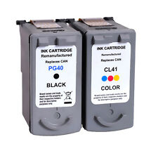 2 PK Ink Cartridge Replacement For Canon PG-40 CL-41 PIXMA IP1200 IP1300