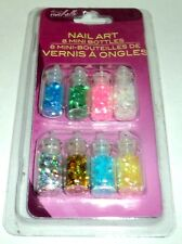Donna Michelle Nail Art In 8 Mini Bottles New In package #1