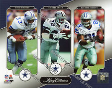 EZEKIEL ELLIOTT EMMITT SMITH DORSETT DALLAS COWBOYS LEGACY COLLECTION 8x10 PHOTO