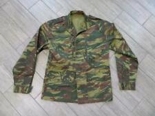 FRENCH LIZARD vintage RHODESIAN camouflage ARMY military SHIRT jacket
