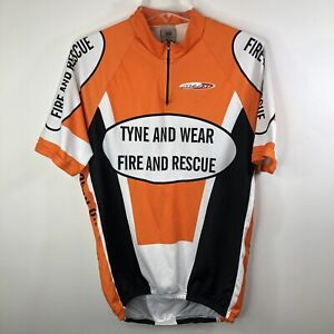 Casa Masferrer Cycling Jersey Men's Shirt Short Sleeve Half Zip Sz XXL