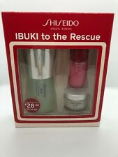 SHISEIDO IBUKI to the Rescue Starter Kit (Mask, Mist, Treatment)-New in box-