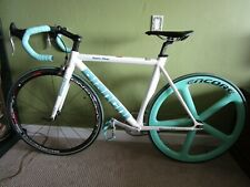 Bianchi Super Pista Alu Carbon Custom Build Celeste Campagnolo Record 51cm