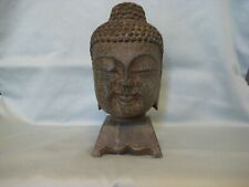 New listing Antique/Vintage Chinese Carved Blue Stone Buddha Head