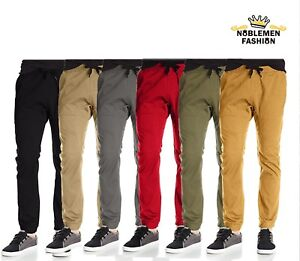 MEN JOGGERS PANTS SOUTHPOLE TWILL STRETCH FIT CASUAL PANTS