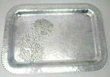 Silverlook Hand Wrought Tray #635