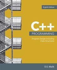 C++ Programming : Program Design Including Data Structures 8th