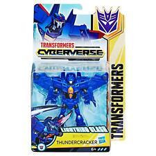Transformers Cyberverse Action Attackers Warrior Class THUNDERCRACKER (E2788)