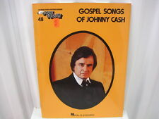 Gospel Songs of Johnny Cash Ez-Play 48 Easy Piano Sheet Music Song Book Songbook