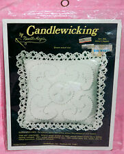 New NeedleMagic Jenny's Square Candlewicking Kit Pin Cushion Sachet Doll Pillow