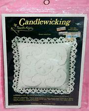 New NeedleMagic Jenny's Square Candlewicking Kit Pin Cushion Sachet Doll Pillow