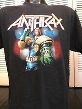 Rare Anthrax The Law Tour Shirt Sz M Metallica Metal Priest Slayer Ozzy Dio SOD