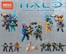 Halo Mega Construx Series 11 Blind Bags & UNSC Spartans Covenant Army Builders