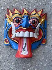 GARUDA 3-D TRIBAL TIKI MASK WALL ART ISLAND HOME DECOR TRIBAL BAR TROPICAL