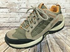LL BEAN Vertigrip LOW Hikers Brown Hiking Trail Shoes Size 7 Wide