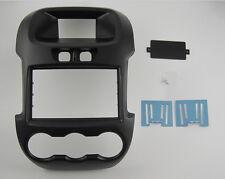 Car Radio fascia Facia Panel Adapte for FORD Ranger 2011+ Manual Air-Conditioner