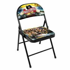 WWE WrestleMania 36 Commemorative VIP Ringside Wrestlers Image Chair IN STOCK