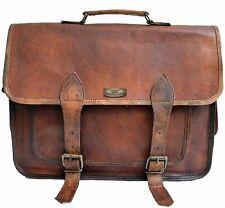 Handbag Briefcase Portfolio Laptop Shoulder Bag Messenger Gift For Him Leather