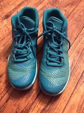 Jordan Nike Super Fly 4 Basketball Shoes Boys Youth Size 7 Teal Blue