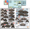 Echelon Fine Details 1/35 M60A3s in Europe (OPFOR Units and Others) Decals