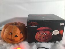 NEW DEPARTMENT 56. ANIMATED JACK-O-LANTERN BOWL WITH MOTION DETECTOR/LIGHT/SOUND
