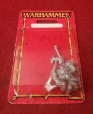 Warhammer Fantasy Chaos Warrior Command Upgrade Pack From Box Regiment Metal OOP