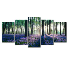 Canvas Art Print Photo Wall Home Decor Poster Floral Landscape Woods Paintings