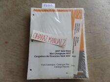 CASE 40XT Skid Steer Parts Catalog Manual 7-7170