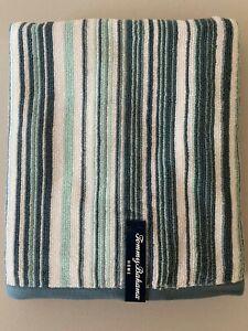 NWT TOMMY BAHAMA Towels Stripe Blue Aqua Cotton Bath Wash Cloth Choose Set Soft