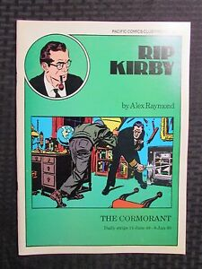 1980 RIP KIRBY The Cormorant #8-9 VF/NM 9.0 Pacific Comics Club Alex Raymond