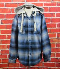 """Piping Hot, Size 12 Boys, Blue Check Hoodie """"NEW"""""""
