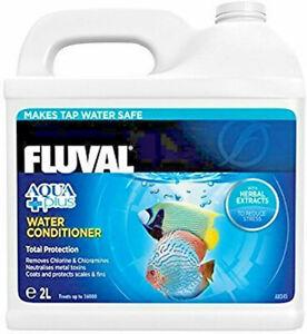 Acondicionador de Agua Aquaplus Fluval - 2l acuario pecera anticloro