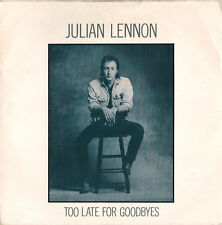 DISCO 45 Giri  Julian Lennon - Too Late For Goodbyes / Well I Don't Know