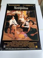 1990 METROPOLITAN Movie Poster Approximately 27 x 40 (PO1)