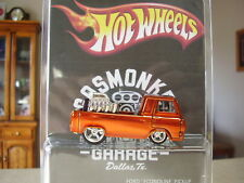 "Hot wheels super ** CUSTOM *  60s ECONOLINE PU "" GAS MONKEY GARAGE treasure hunt"
