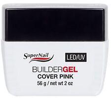 SuperNail LED/UV Builder Gel Cover Pink - 2oz (51617)