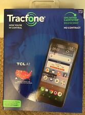 NIB Tracfone TCL A1 4G LTE Prepaid Cell Phone Factory Sealed