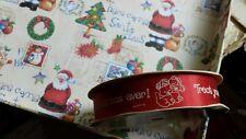 "Vintage Strawberry Shortcake Holiday Pupcake Custard ribbon 18 ft. 7/8"" craft"