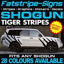 MITSUBISHI Shogun grafica Tiger Stripes Adesivi Decalcomanie V80 V60 4x4 OFF ROAD
