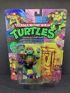 2021 Playmates Retro Ninja Turtles RAPHAEL Walmart Exclusive MINT Card & Bubble!