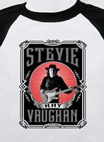 STEVIE RAY VAUGHAN new T SHIRT  all sizes S M L XL