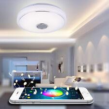 LED lámpara de techo con Bluetooth altavoces control remoto & colores cambiantes